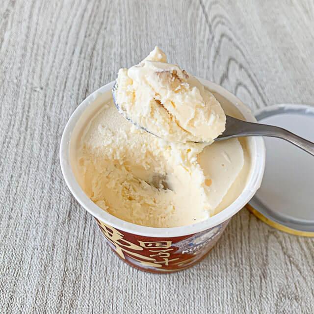 久保田食品アイス「四万十栗アイスクリーム」